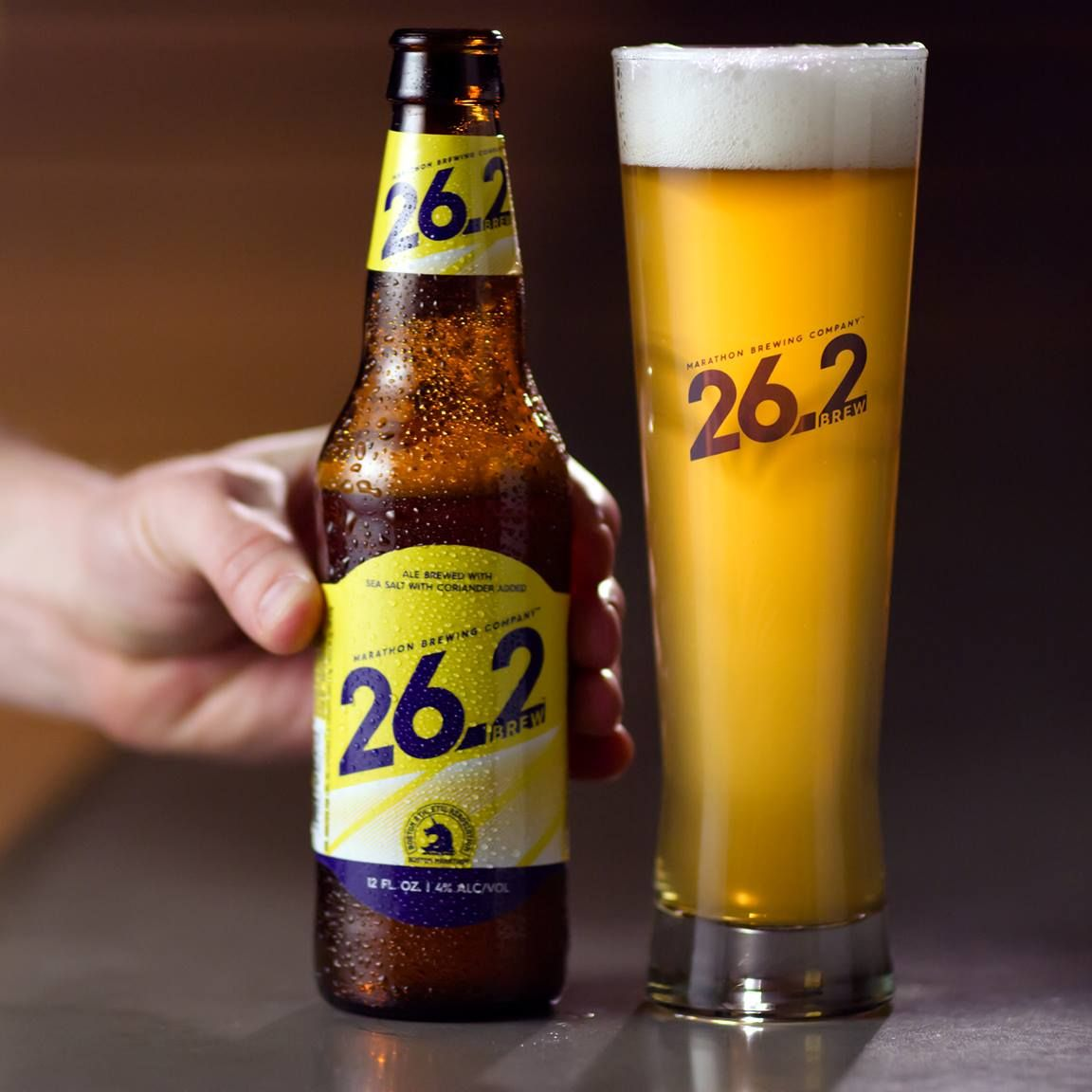 best low-calorie beer: 26.2 brew beer