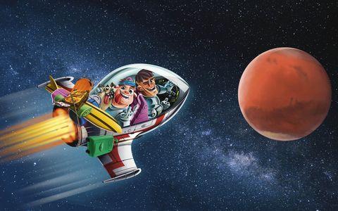 quest en storytel maakten een audioserie voor kinderen over een ruimtereis naar mars