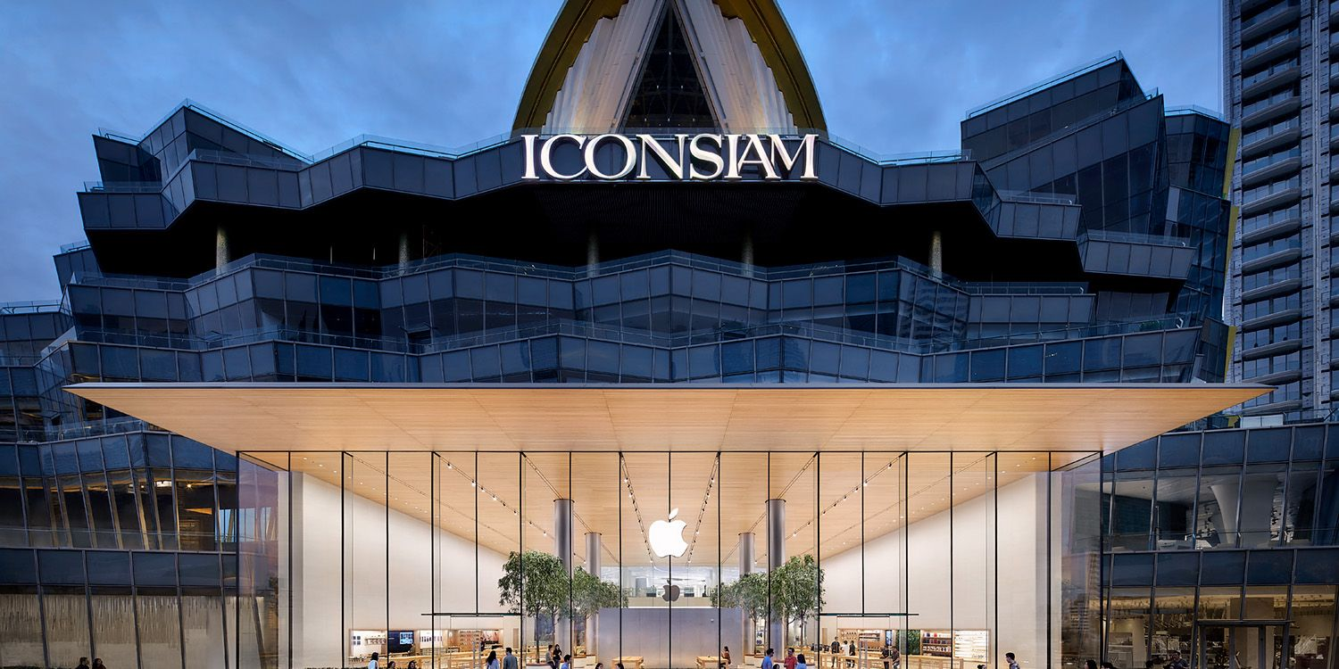 Apple Store Iconsiam, Bangkok, Thailandia - Foster + Partners