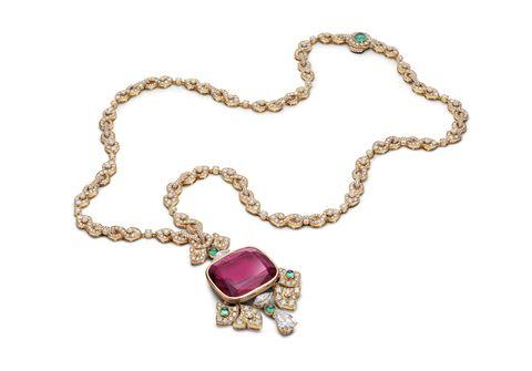 bulgari rosso caravaggio necklace