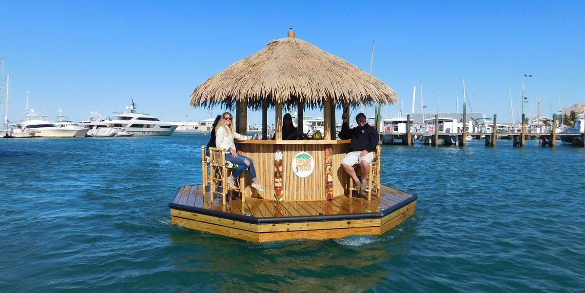 Floating Tiki Bars Are The One Thing Florida Does Right