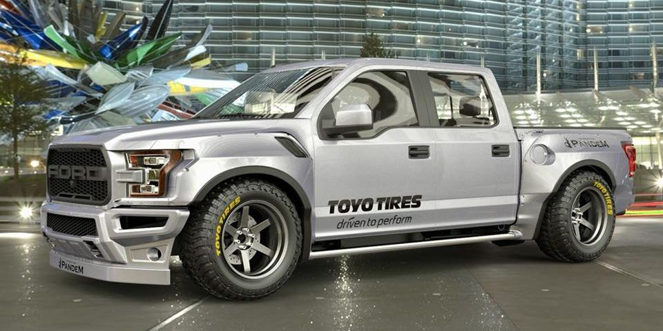 This Lowered F-150 Raptor Is Pointless and Therefore Perfect