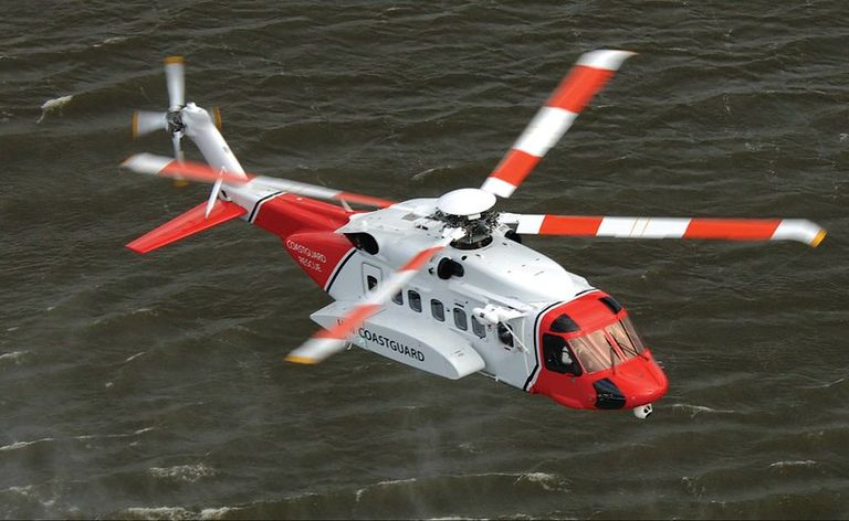 S-92 in Irish Coast Guard service. Lockheed Martin/Sikorsky