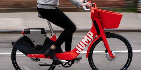 Jump Dockless E-Bike Share