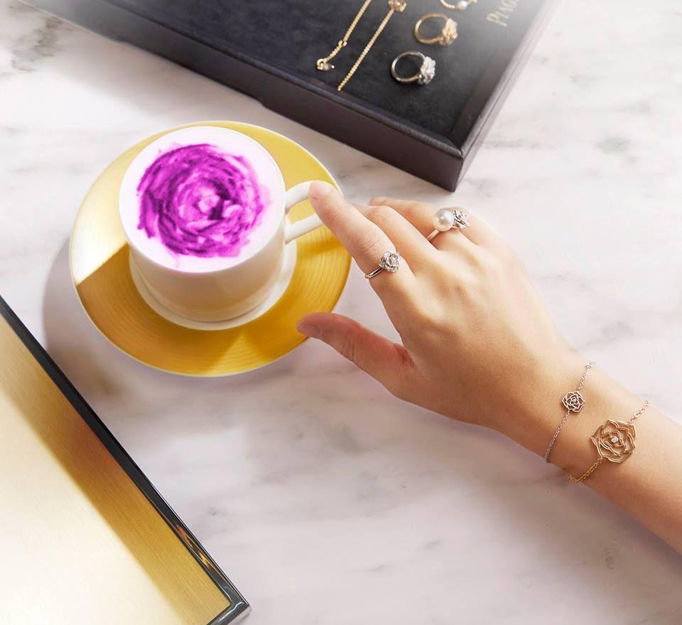 Piaget Rose 伯爵玫瑰系列珠寶戒指與手環