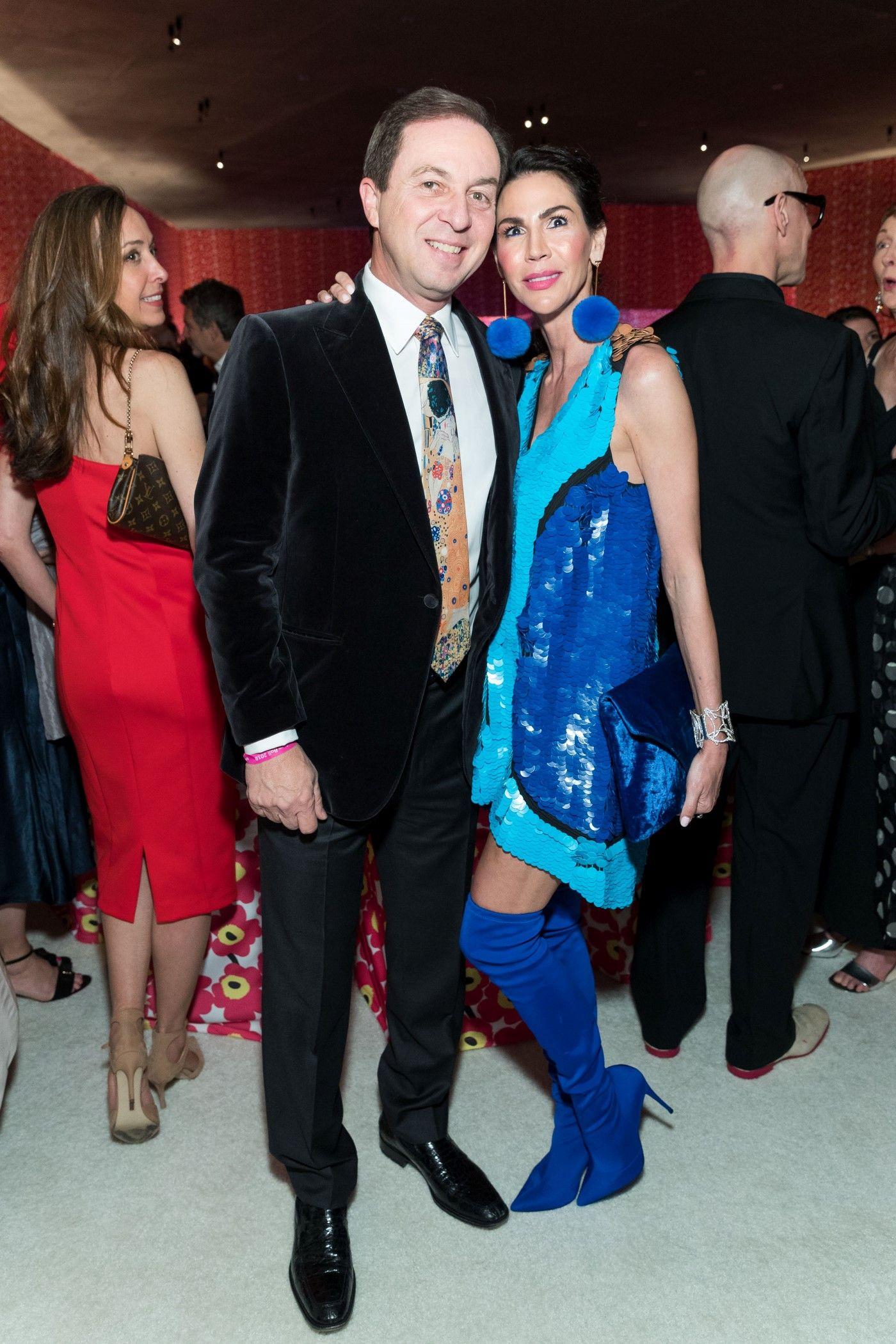 Joe Lacob and Nicole Curran