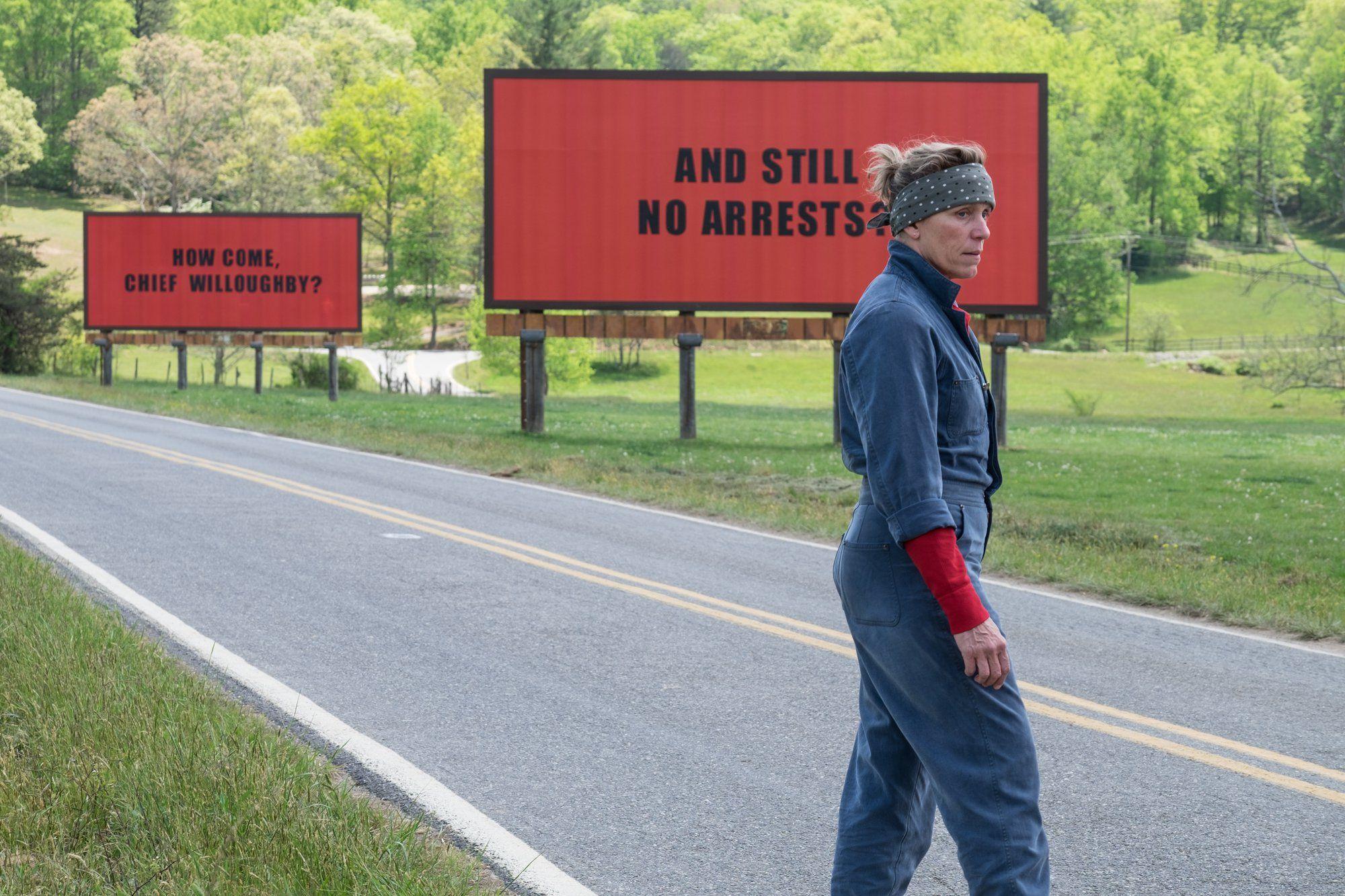 Three Billboards Outside Ebbing Missouri Frances McDormand