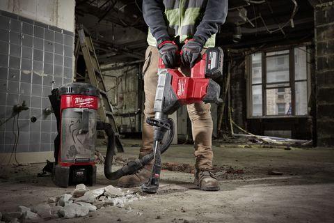 Leg, Workwear, Jackhammer, Hammer drill,