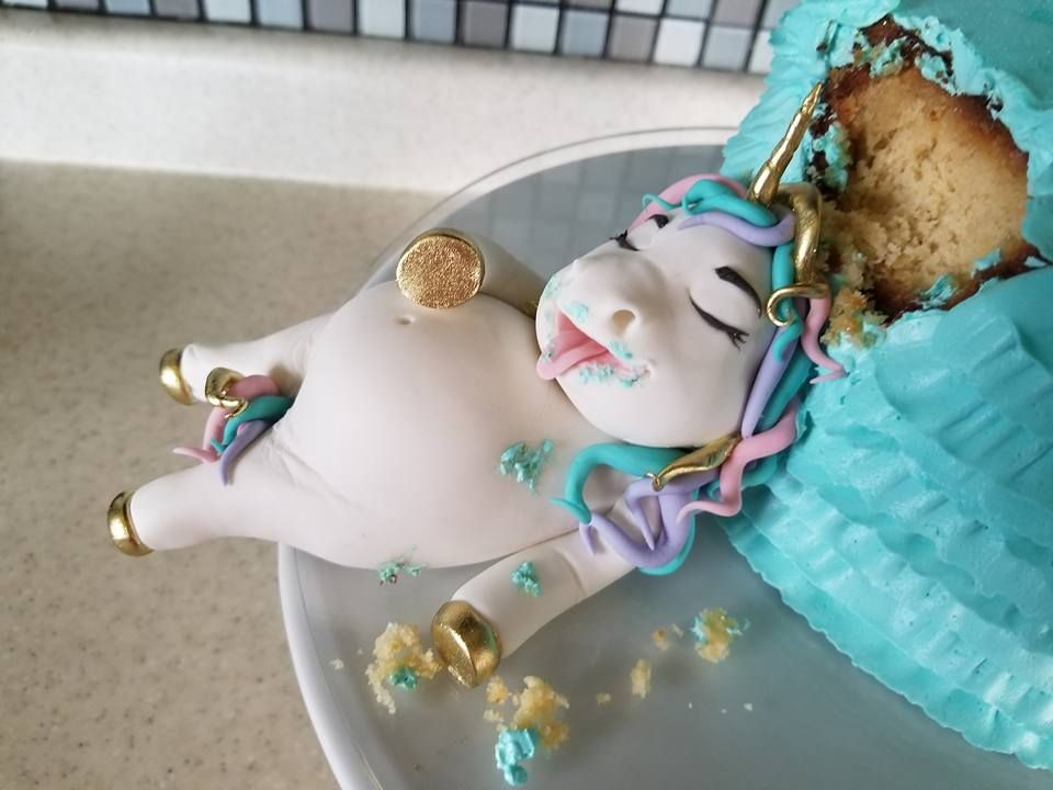 Fat Unicorn Cakes Are Here And Theyre Almost Too Cute To Eat