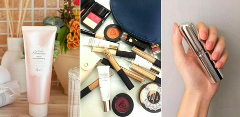 Product, Beauty, Cosmetics, Material property, Eye shadow, Eye liner, Makeup brushes,