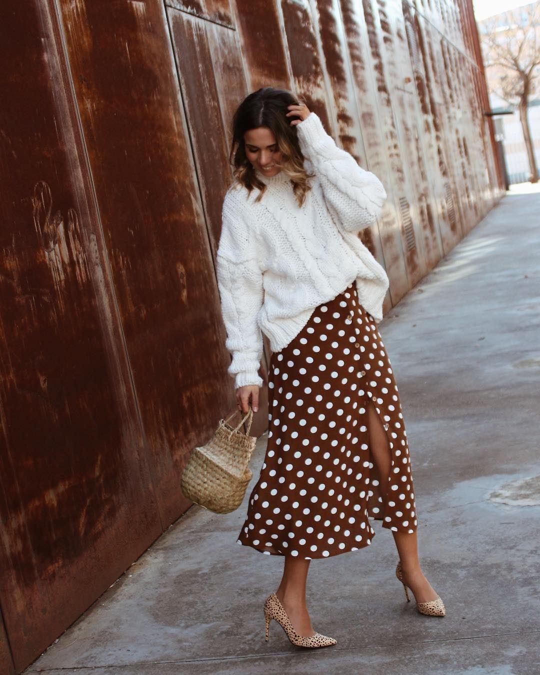 exuberante en diseño más vendido calidad Ésta es la falda midi que ha enamorado a Instagram