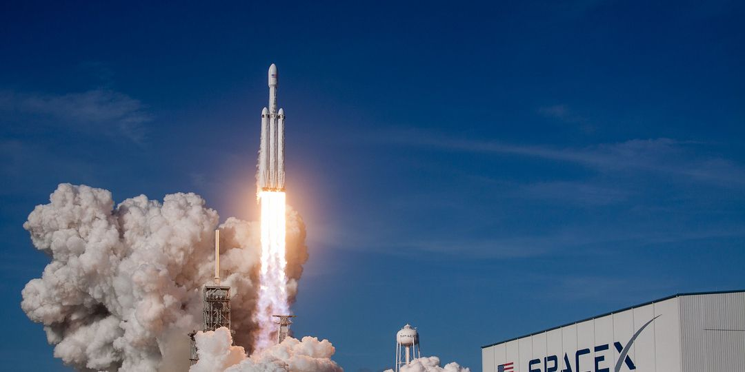 Elon Musk Just Shot His Car Into Space With The World's Most Powerful Rocket