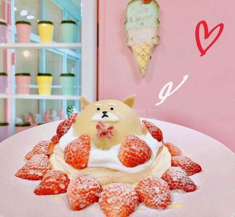 Food, Cuisine, Sweetness, Dessert, Dish, Baked goods, Strawberry, Pastry, Icing, Recipe,