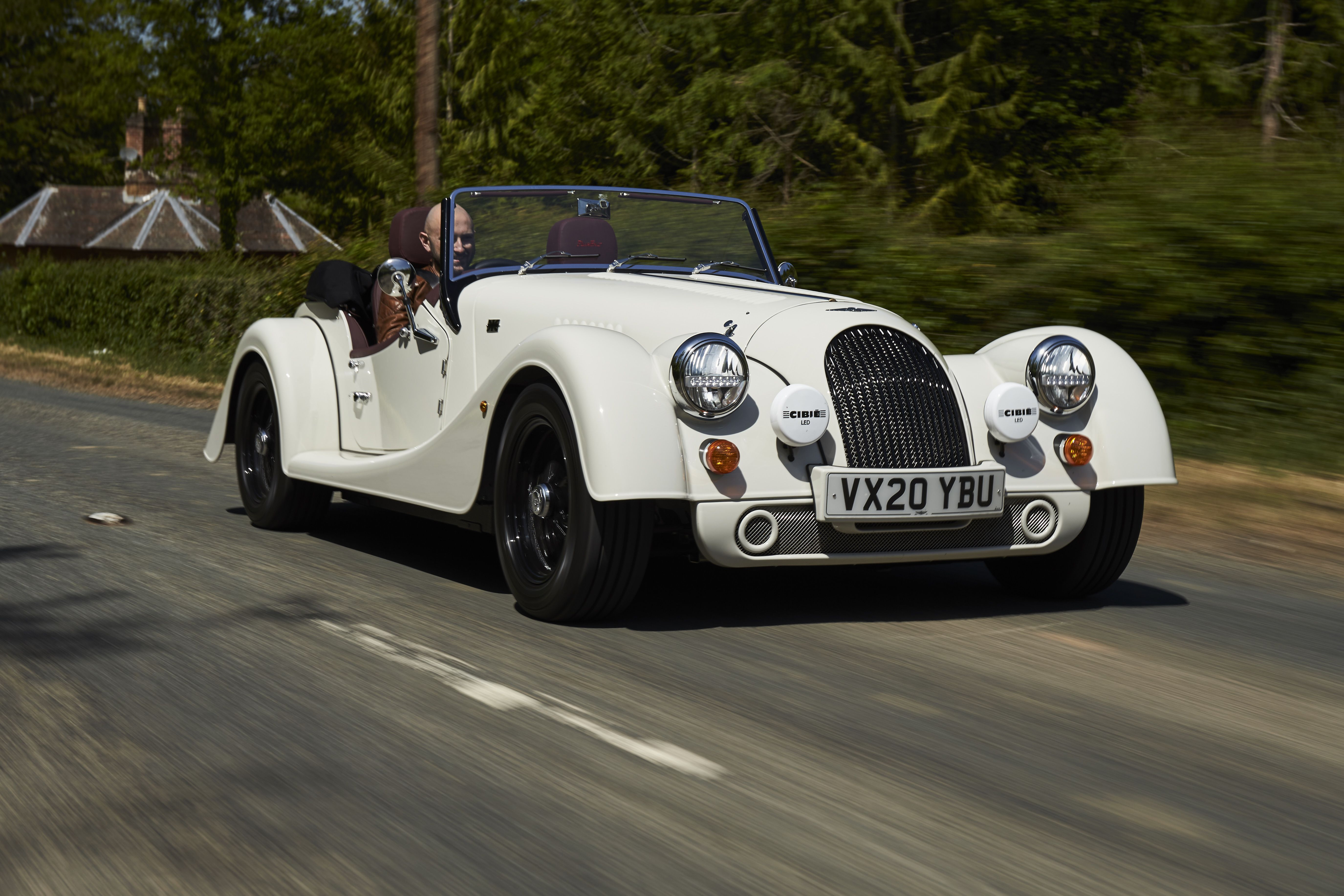 The New Morgan Plus Four Is a Pleasantly British Mix of Fun and Comfort