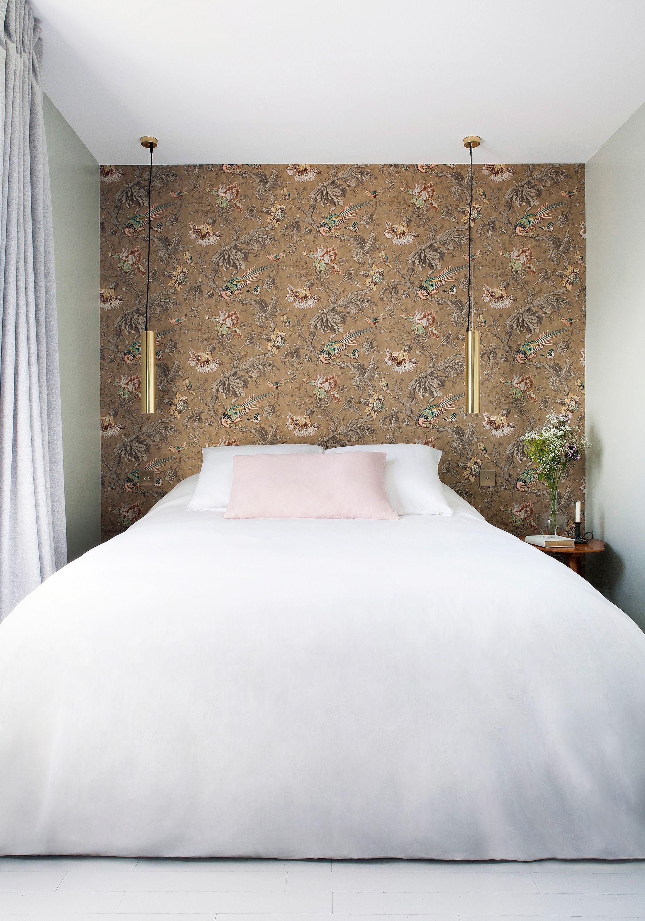 27 Bold Bedroom Wallpaper Ideas We Love , Timeless Bedroom