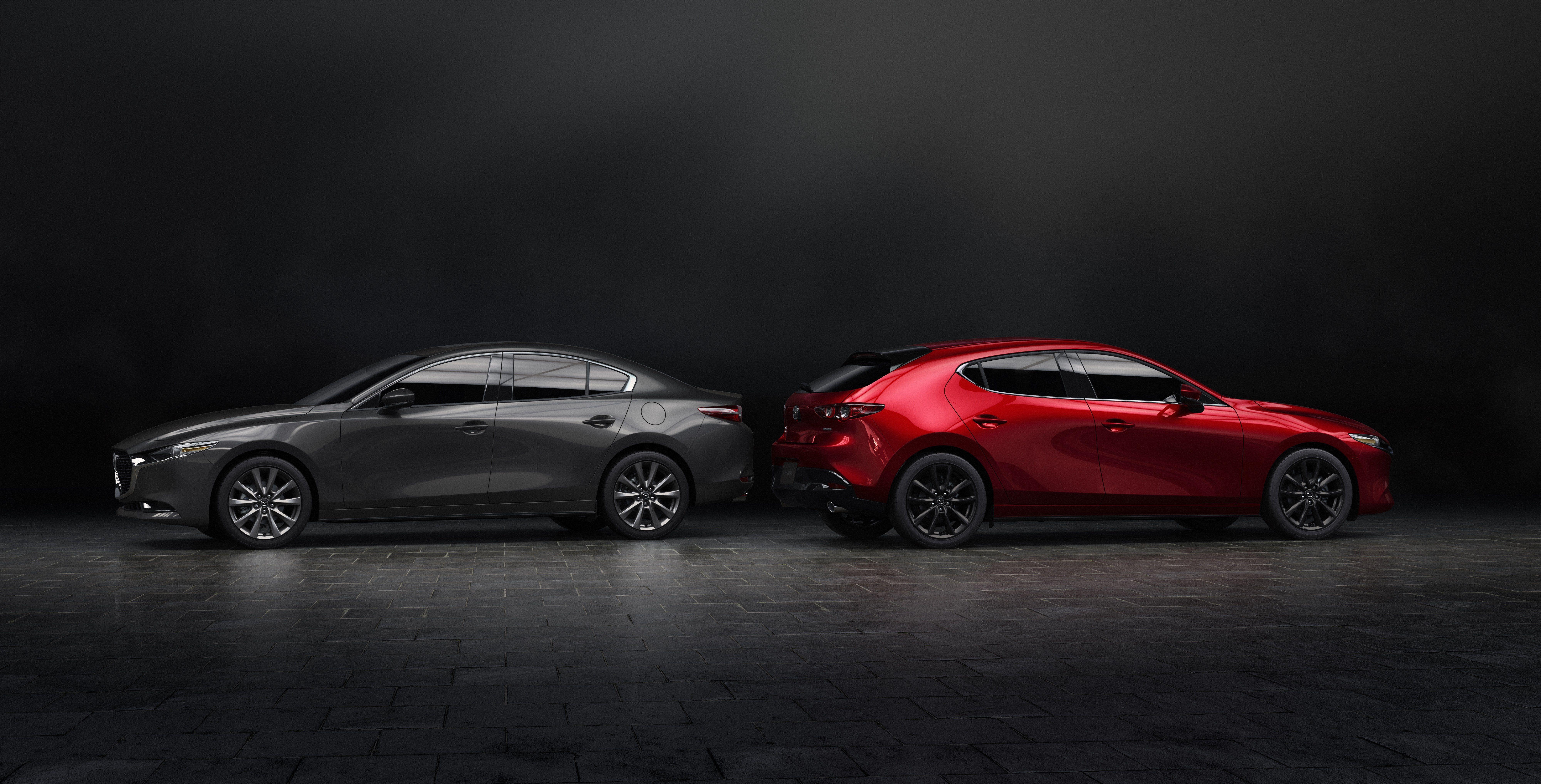 Mazda 3 Sport Vs Touring >> New 2019 Mazda 3 Sedan And Hatchback Priced More Expensive