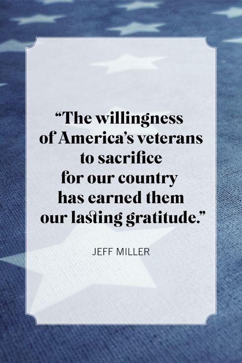 jeff miller memorial day quotes