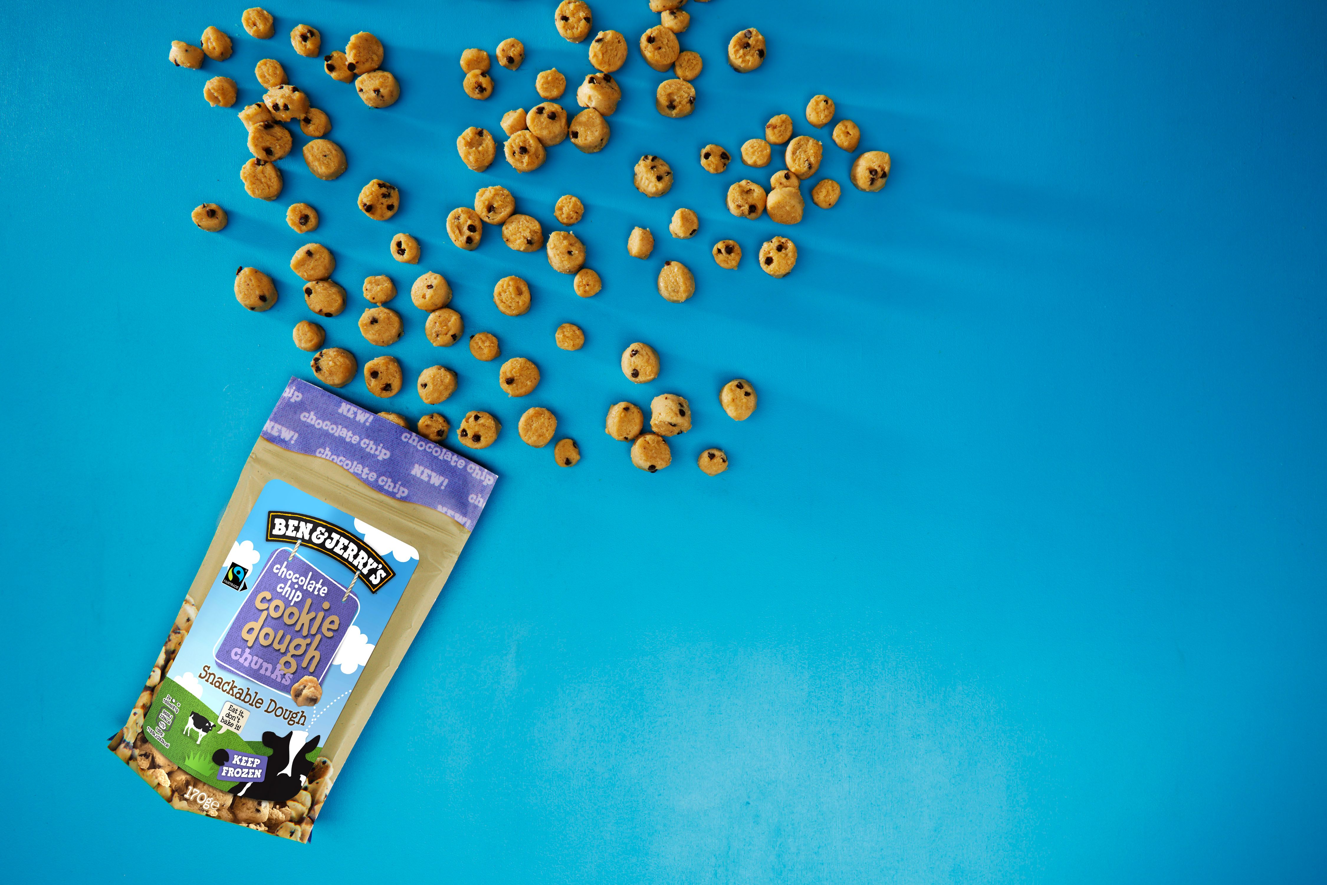 Ben & Jerry's launches Cookie Dough Chunks