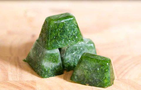 herbs ice cubes
