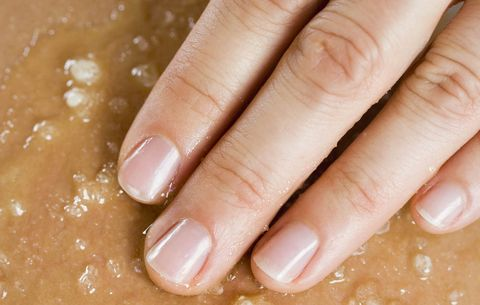 Make your own body scrub.
