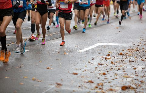 running causes repetitive trauma to feet