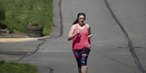 Rebekah Ceidro running