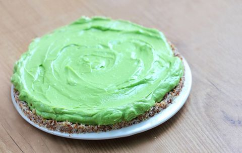 Avocado Key Lime Pie Tart