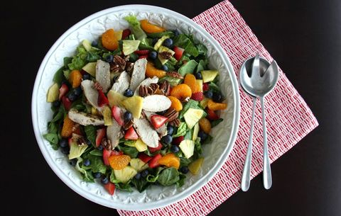 Panera Strawberry Poppyseed Salad