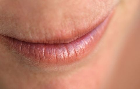 Buff your chapped lips.