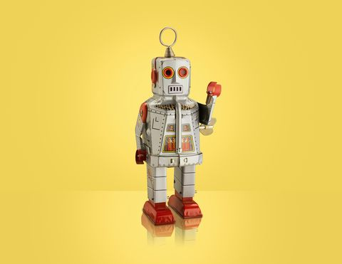 I had to learn to speak robot.