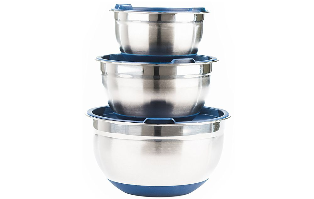 Best Fitzroy And Fox Piece Stainless Steel Mixing Bowl Set With Cool  Kitchen Gadgets