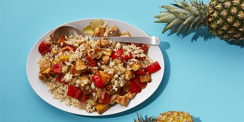 Tropical Chicken Stir-Fry