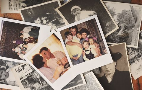 organize family photographs