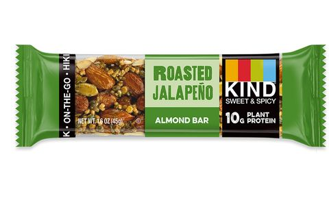 KIND Sweet & Spicy Roasted Jalapeno, low sugar