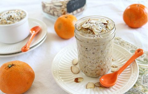Orange Infused Overnight Steel Cut Oats