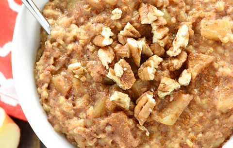 Overnight Apple Pie Slow Oats