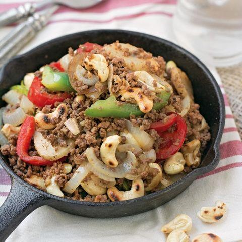 paleo cashew beef