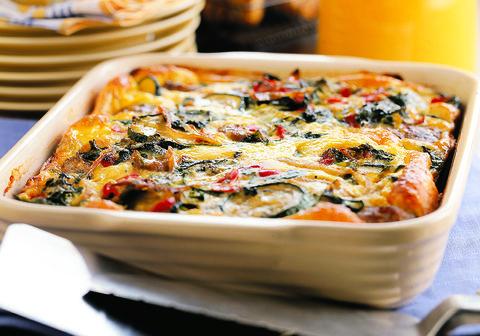 saussage veggie casserole
