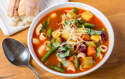 Minestrone, easy dinner ideas