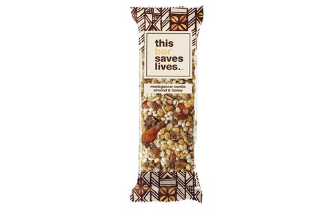 This Bar Saves Lives. Madagascar Vanilla Almond & Honey