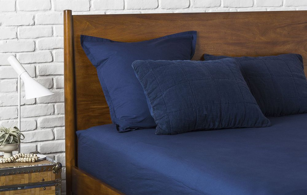 Best Cotton: Parachute Percale Fitted Sheet