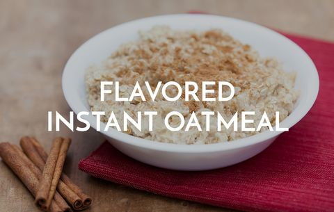 Flavored Instant Oatmeal