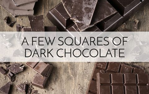nutritionists energy foods dark chocolate