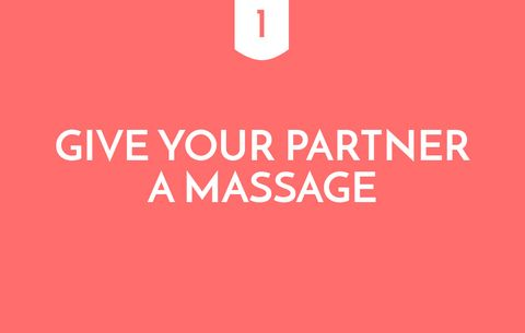 Give Your Partner A Massage