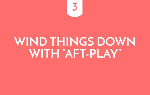 "Wind Things Down With ""Aft-Play"""