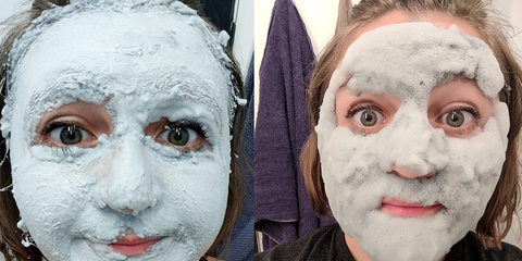 Viral bubble face mask