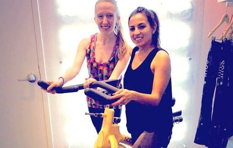 Nicoletta Richardson workout