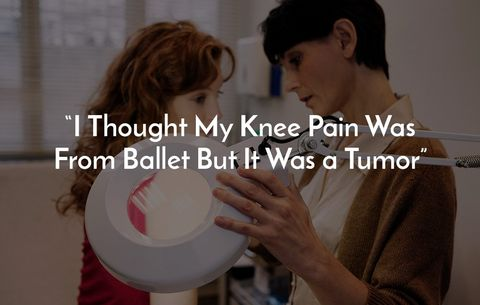 I Thought My Knee Pain Was From Ballet But It Was a Tumor