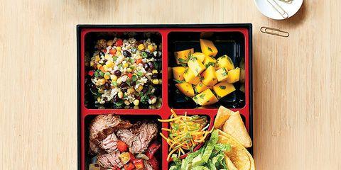 Tex-Mex bento box lunch recipes