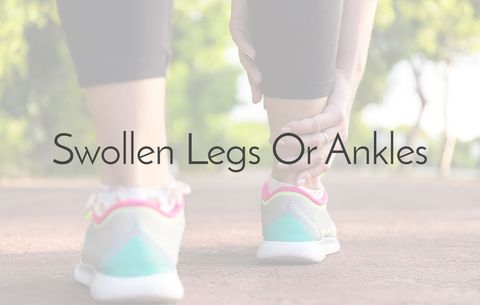 Swollen legs or ankles